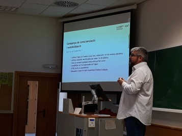Sergio Chiva presentó las principales acciones comunicativas que desarrolla la Cátedra FACSA